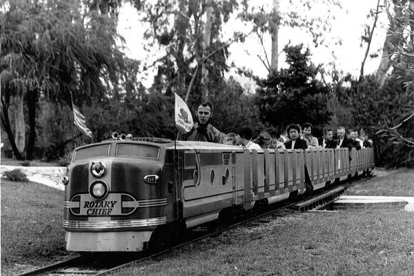 Historic Storyland/Playland Train