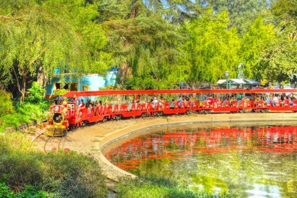 Storyland Playland Train