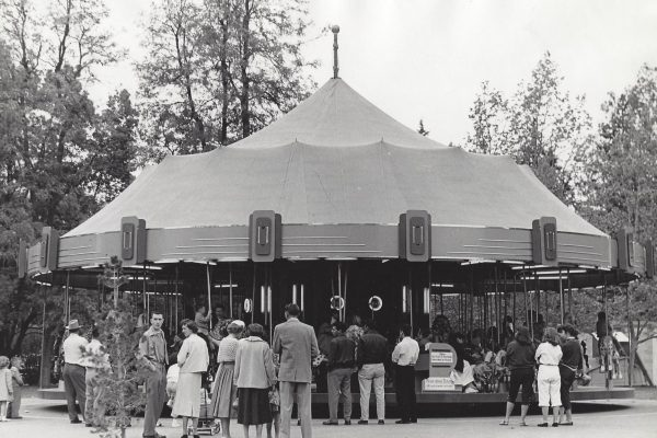 Big Top Carousel - Opening Day, 1955