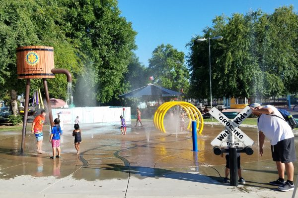 Water Play Splash Pad