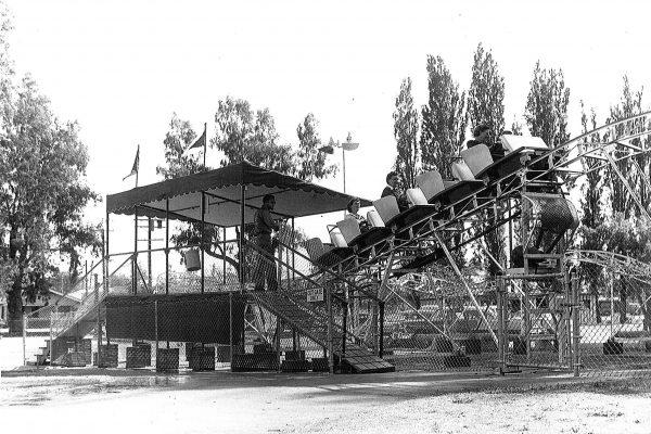 Roller Coaster in Black & White